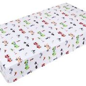 Wildkin Heroes Fitted Crib Sheet - Melon Bellies