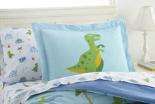 Load image into Gallery viewer, Wildkin Dinosaur Land 100% Cotton Bed in a Bag - Melon Bellies