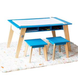 Wildkin Arts & Crafts Table - Blue - Melon Bellies