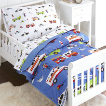 Load image into Gallery viewer, Wildkin Microfiber Heroes Bed in a Bag - Melon Bellies