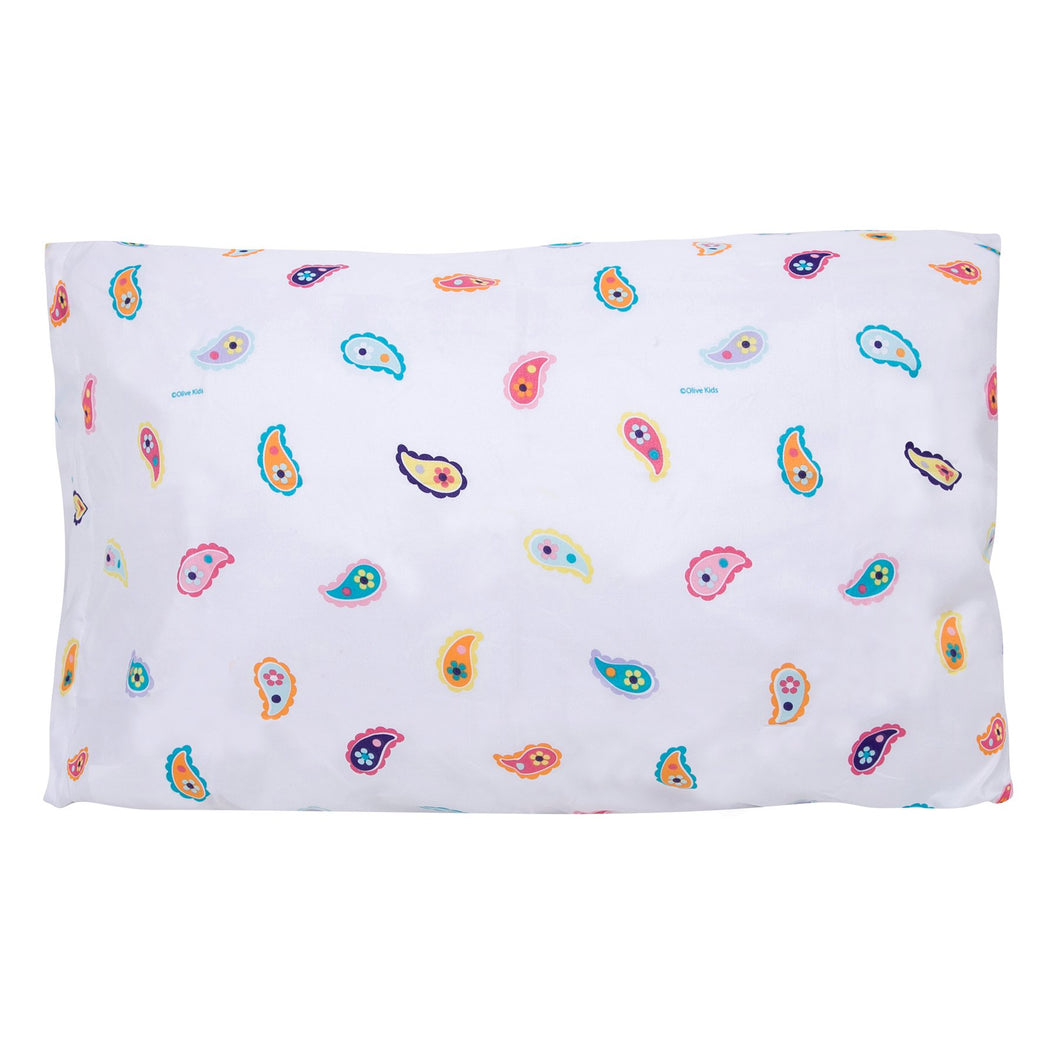 Wildkin Microfiber Paisley Pillow Case - Melon Bellies