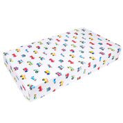 Load image into Gallery viewer, Wildkin Trains, Planes & Trucks Fitted Crib Sheet - Melon Bellies