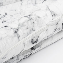 Load image into Gallery viewer, DockATot® Deluxe+ Dock - Carrara Marble - Melon Bellies