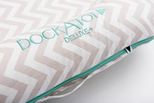 Load image into Gallery viewer, DockATot® Deluxe+ Dock - Silver Lining (chevron) - Melon Bellies