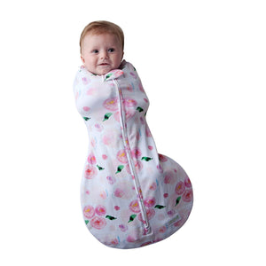 Woombie Grow With Me Swaddle - Melon Bellies