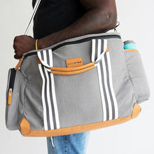 "Load image into Gallery viewer, Baby K'tan® ""The Weekender Diaper Bag"" - Melon Bellies"