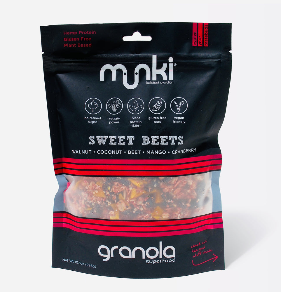 Munki Food Sweet Beets Superfood Granola