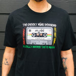 """TRAIL MIX"" TAPE - BLACK T-SHIRT"