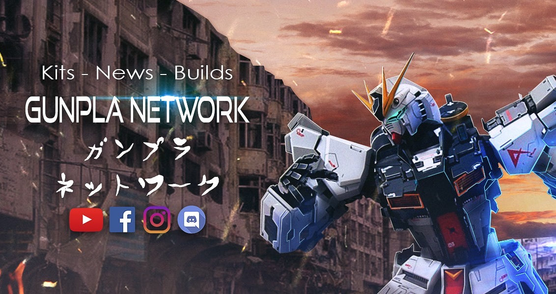 Now In Partnership With Gunpla Network!
