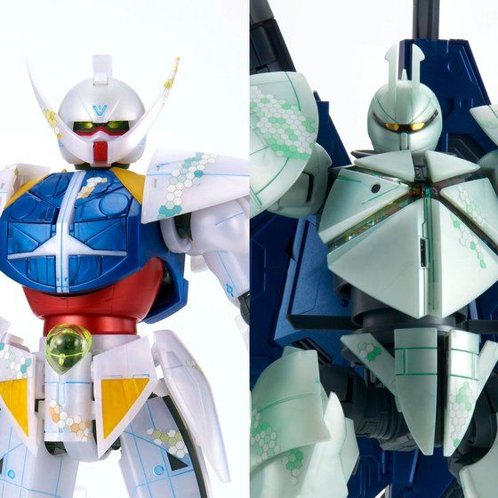 MG 1/100 Turn A Gundam / Turn X [nano skin image] Set (September & October Ship Date)