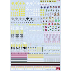 Gundam Decal DX 05 [One Year War / Zeon] (November & December Ship Date)