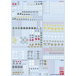 Gundam Decal DX 06 [Unicorn Vol. 2] (November & December Ship Date)
