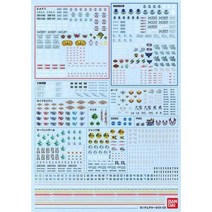 Gundam Decal DX 03 [SEED] (November & December Ship Date)