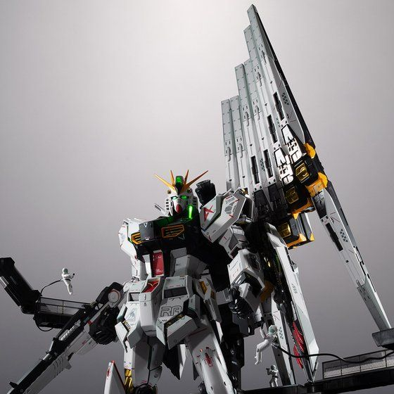 Metal Structure 1/60 RX-93 Nu Gundam Option Parts - Fin / Funnel (July & August Ship Date)