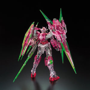 Gundam Base Limited RG 1/144 00 Qan[T] Full Saber (Trans-Am clear ver.)