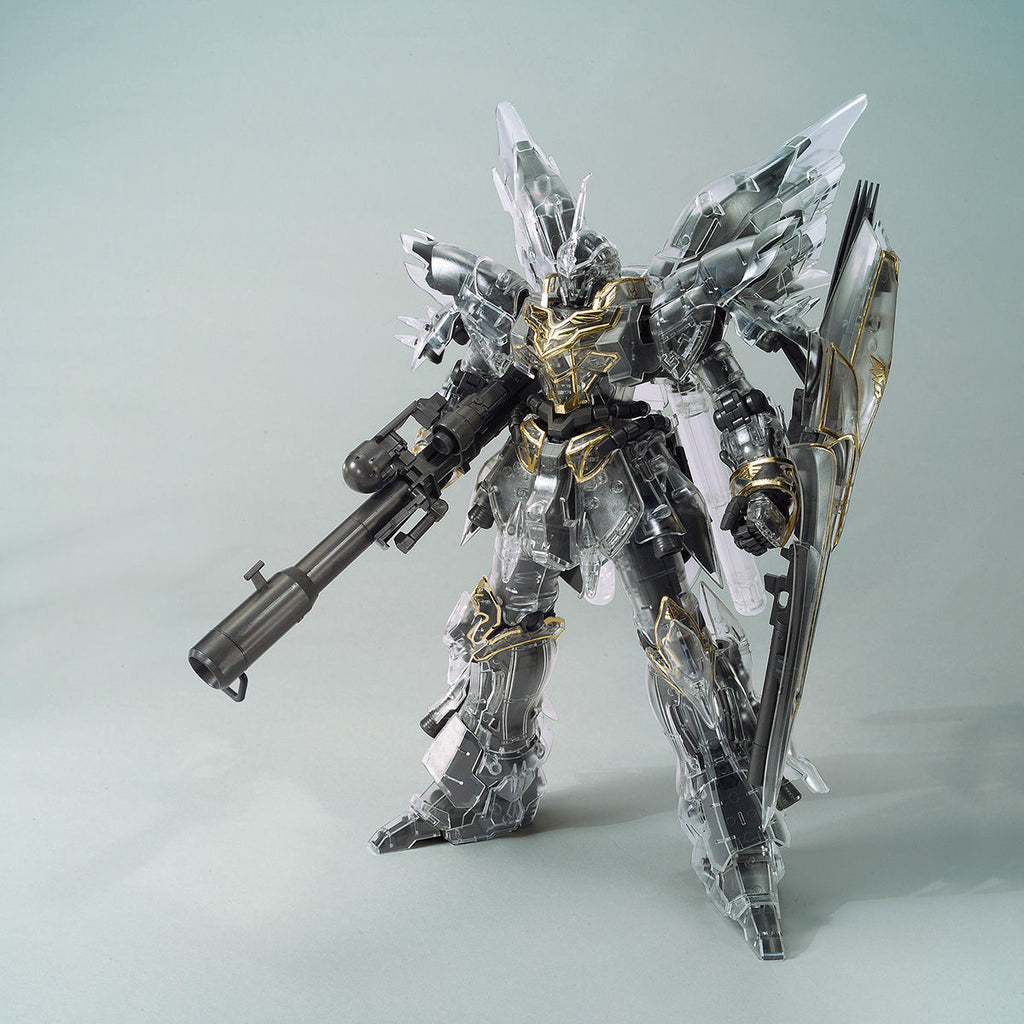 MG 1/100 Gundam Base Limited Sinanju [Mechanical Clear]