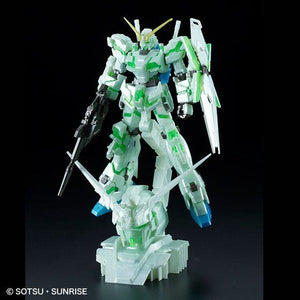 HG 1/144 Unicorn Gundam (Destroy Mode) + Head Display Base Final Battle Ver.