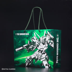 THE GUNDAM BASE Shopping Bag Unicorn Gundam Pattern
