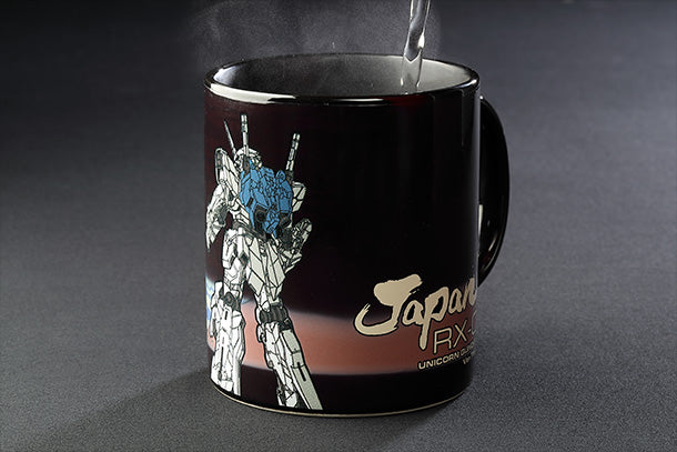 Unicorn Gundam Ver.TWC × Red Fuji Thermosensitive Mug