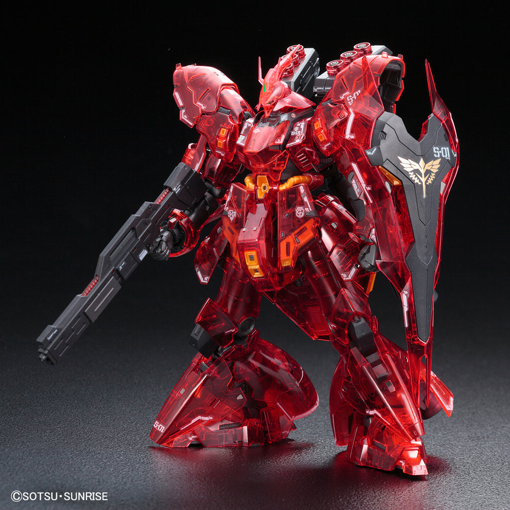 RG 1/144 MSN-04 Sazabi [Clear Color ver.]