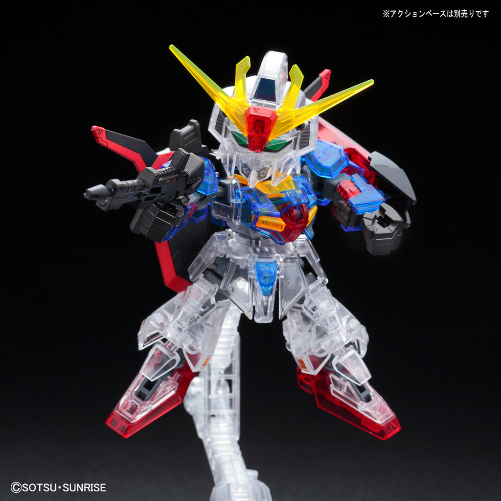 SDCS MSZ-006 Zeta Gundam [Cross Silhouette Frame Ver.] (Clear Color)