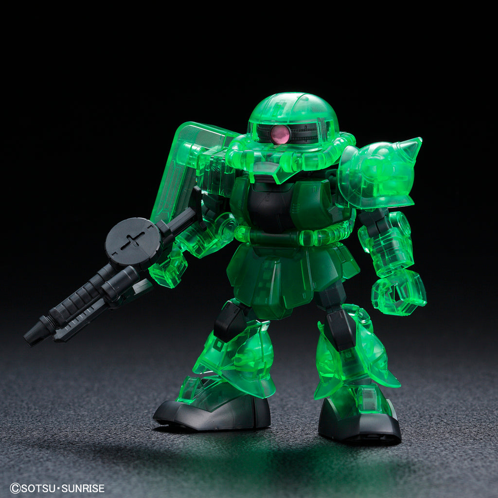 SDCS Zaku II (Cross Silhouette Frame Ver.) [Clear Color]