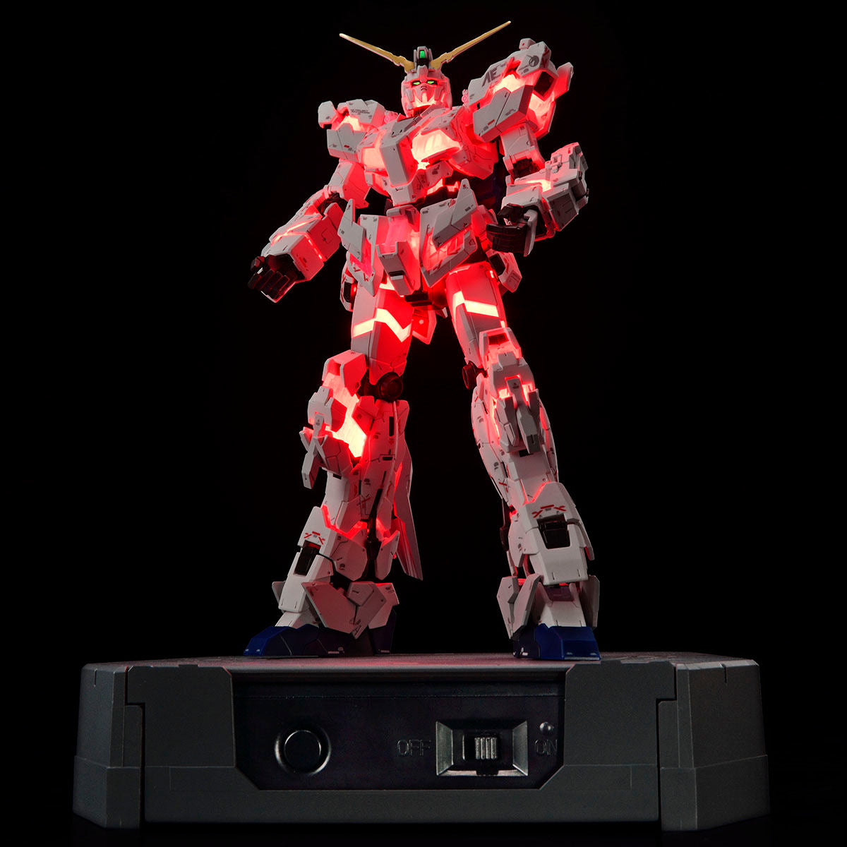 RG 1/144 Gundam Base Limited RX-0 Unicorn Gundam (Destroy mode) Ver. TWC (LIGHTING MODEL)