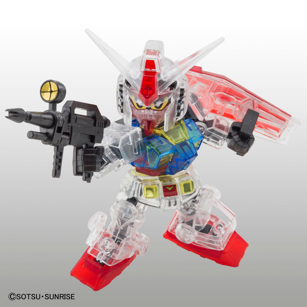 SD Gundam Cross Silhouette Gundam Base Limited RX-78-2 Gundam [Clear Color]