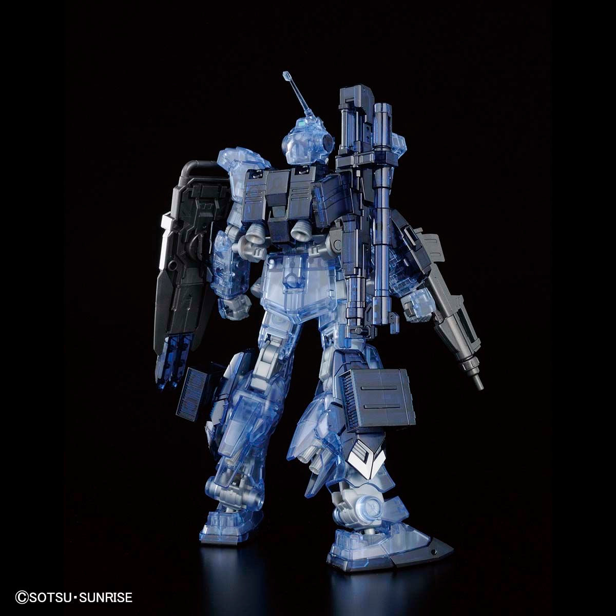 HGUC 1/144 Gundam Base Limited Pale Rider [Ground Heavy Equipment Type] [Clear Color]