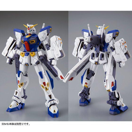 Mission Pack F Type & M Type for MG 1/100 Gundam F90 (October & November Ship Date)
