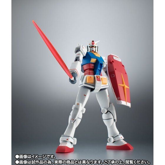 [TNT Limited Edition] ROBOT Spirits (SIDE MS) RX-78-2 Gundam ver. A.N.I.M.E. ~ Real Markings ~ (February & March Ship Date)