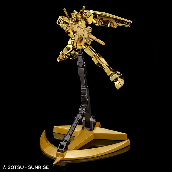 Gundam Base Limited Prize HGUC 1/144 RX-78-2 Gundam REVIVE [Gold Coating]