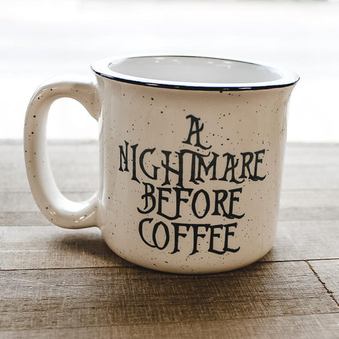 A Nightmare Before Coffee Mug