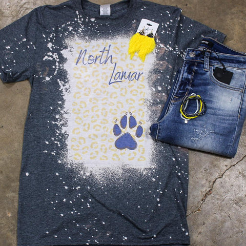 North Lamar Panther Bleached Leopard