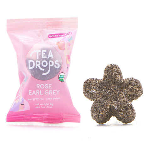 Tea Drops Rose Earl Grey