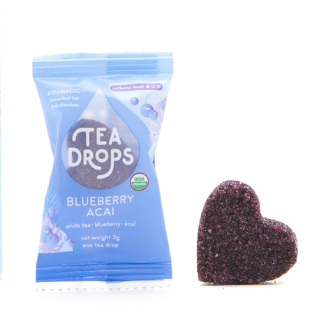 Tea Drops Blueberry Acai