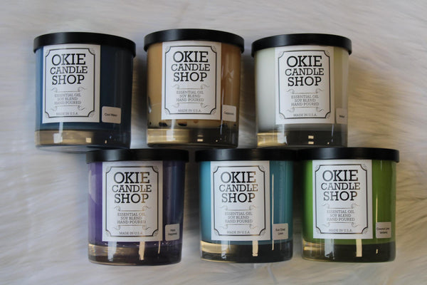 OKIE CANDLES SMALL TUMBLER