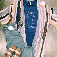 Give It All To God Tee