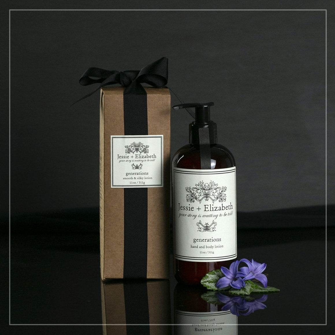 Generations 11 oz bottle and gift box