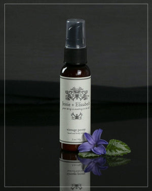 2 oz bottle of peony lotion that is perfect for your purse!