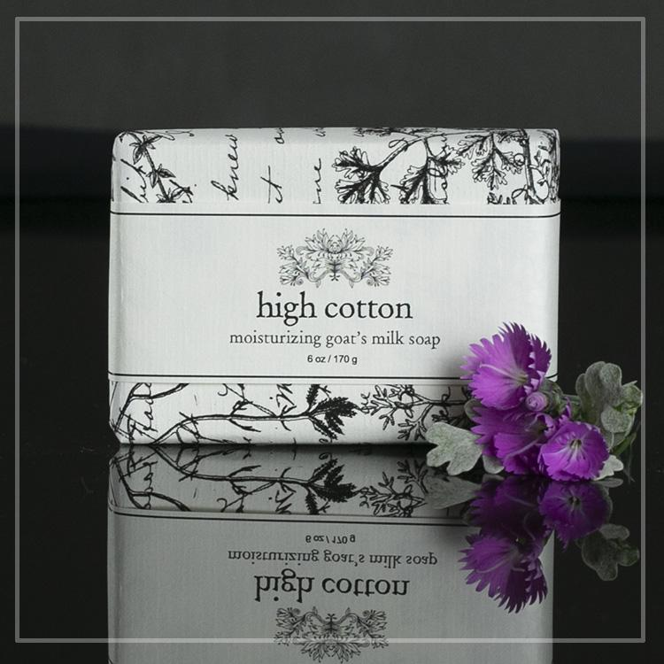 high cotton goat milk soap