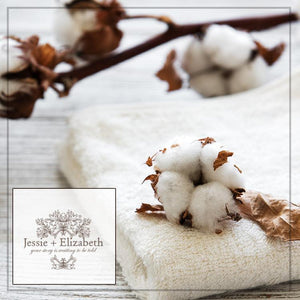 beautiful cotton bolls for goat milk soap