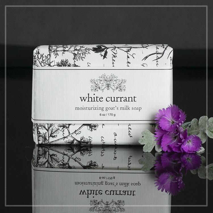 Soap - White Currant Moisturizing Goat's Milk Soap