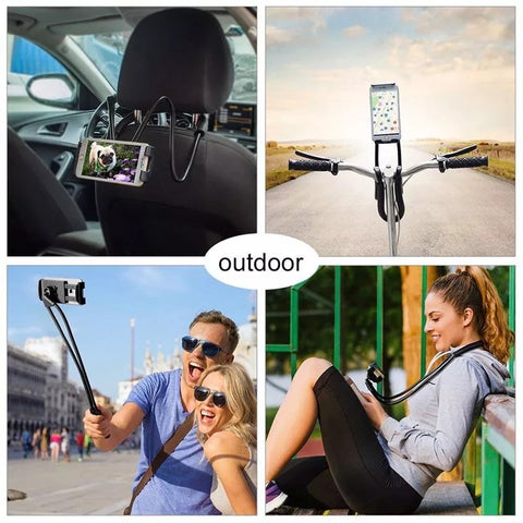lazy neck phone tablet holder trendz worldwide