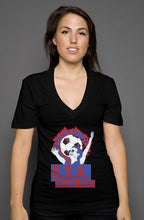 Load image into Gallery viewer, Equal Pay USA V Neck - Trendzz Worldwide