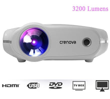 Load image into Gallery viewer, Portable LED Projector with Full HD 4K*2K - Trendzz Worldwide