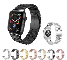 Load image into Gallery viewer, Luxury Stainless Steel Linked Watchband - Trendzz Worldwide