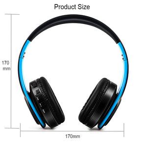 Bluetooth Wireless Headphones w/ Mic - Trendzz Worldwide
