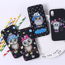 Load image into Gallery viewer, Cute Owl Cases For iPhone - Trendzz Worldwide