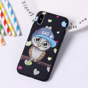 Cute Owl Cases For iPhone - Trendzz Worldwide